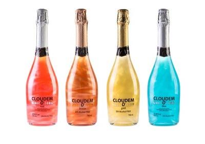 вино Игристое безалкогольные напитки парча 4 разные Ноль %