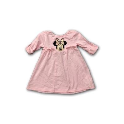 fb222e1aa2 Różowa trapezowa sukieneczka Myszka Minnie 74-80