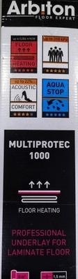 Multiprotec podkladu pod 1000 panely 1,5 mm ROCLA
