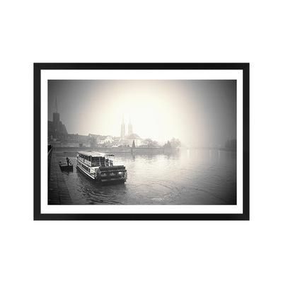 Картина Пристань tumski фотография в раме DonumArt
