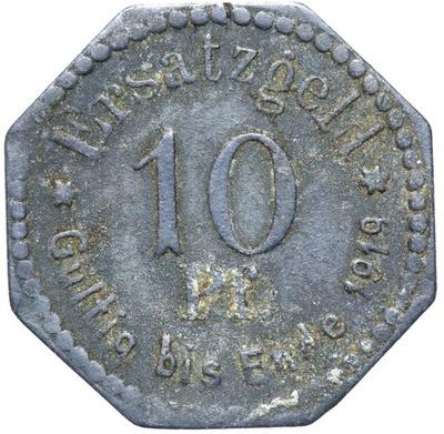 + Stettin -  - NOTGELD - 10 Pfennig 1917