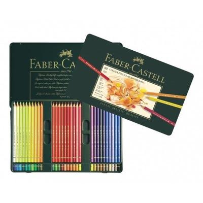 Polychromos farebné ceruzky 60 farby kovu Faber-Castell