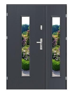 двери Внешние  ДВУСТВОРЧАТЫЕ РЕЙВЕНА DUO