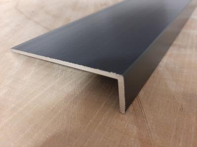 Kątownik Aluminiowy 80 x 20 x 2 mm dł 2m ANTRACYT