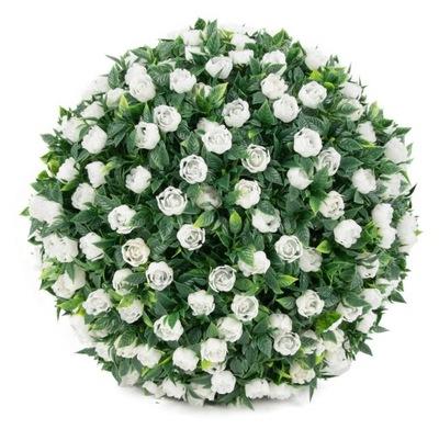 шар FLORAL роза 22 СМ искусственные цветы белая