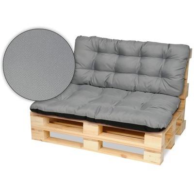 Подушки на мебель из поддонов скамейка 120х80+120x50 сталь