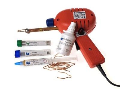 Z04C Lutownica z Regulacją, Topniki do Elektroniki