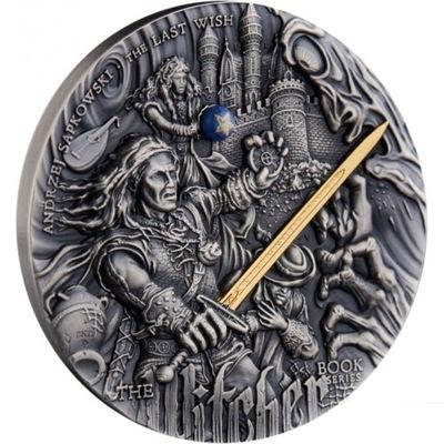 Монета 5 $ ПОСЛЕДНЕЕ ЖЕЛАНИЕ - Ведьмак от руки !