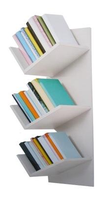 Polica na knihy prívesok lampa moderného