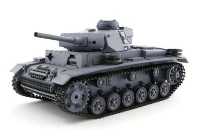 HENG LONG Танк Германий Panzer III 2 .4GHz 1 /16 V.4