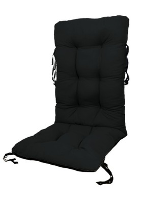 подушка стул садовое лежак 48x48x75 Черный