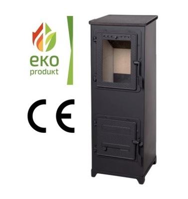 SPORÁK OCELE PADOVA 6 kW EKO - Keffner