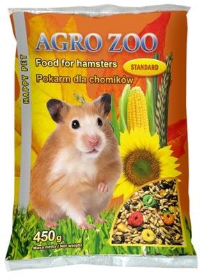 корм , корм , зерна для хомяка 450 ?