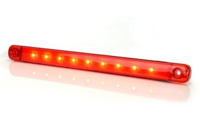 LampKA obrysówka czerwona led waś w974 DŁUGA 718