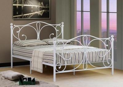 кровать белое металлические ? ?????????? 140х200 кристалл