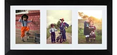 GALÉRIA foto rámček PRE 3 FOTOGRAFIE 10x15 CM PHOTO FRAME HIT