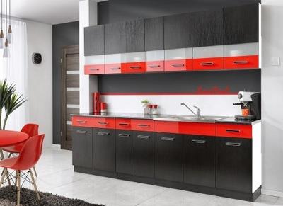Мебель Кухонные МАМБА черная 2 ,6 - 3ЦВЕТА