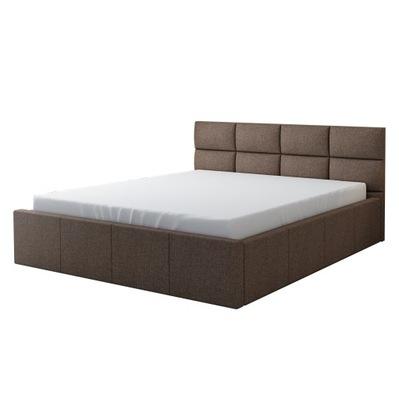 кровать Радость обиты каркас + матрас 140х200