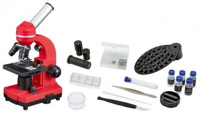 Mikroskop Szkolny Bresser Biolux SEL 40x-1600x red