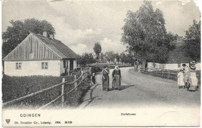 Он возник после первой мировой - Dorfstrasse - сегодня улица Starowiejska