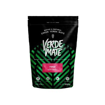 Yerba Verde Mate green Роза Розовая Ноль ,5 кг 500 г