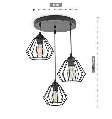 ЛАМПА подвесной светильник ПОТОЛОЧНАЯ ЛЮСТРА Бриллиант LED 724-E3