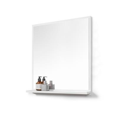 зеркало с полка зеркало ванной белое ??? ванные комнаты