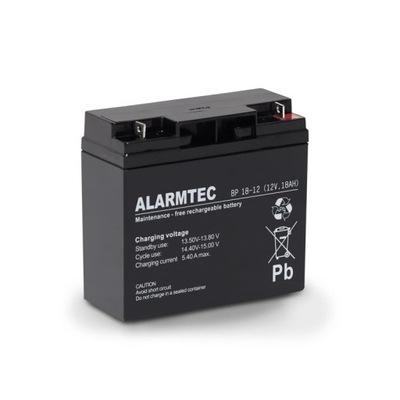Akumulator ALARMTEC BP 18-12 (12V 18Ah) ŻELOWY