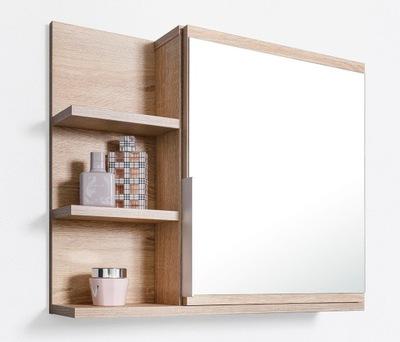 Шкаф с зеркалом сонома шкаф для ванны, полки L