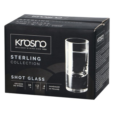 Okuliare pre vodka 35ml STERLING | loom