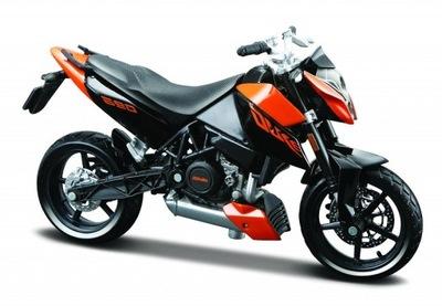 KTM 690 DUKE мотоцикл модель 1 :18 Maisto