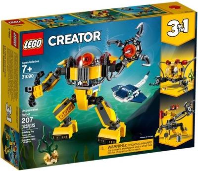 Podvodné LEGO CREATOR robot 3 v 1 31090