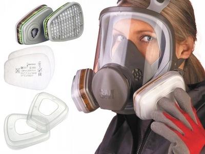 3M 6900 маска краска газовая полный Полная L