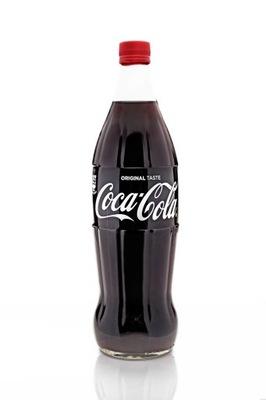 Coca Cola Z Wloch Szklana Butelka 1l Original 9573942328 Oficjalne Archiwum Allegro