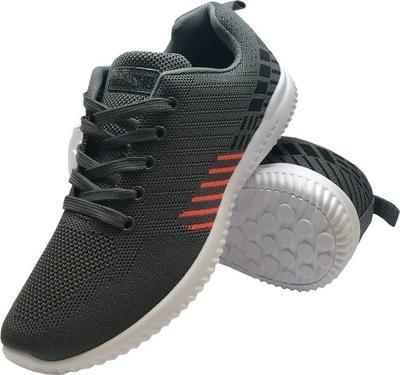 Męskie wygodne buty sportowe codzienne biegania