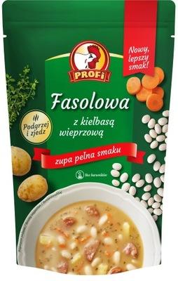 Фасолевый суп с Колбасой Свинью 450g PROFI