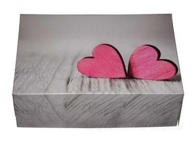 коробки ТЕСТО сердца 22x15,5x7,5СМ 10ШТ свадьба