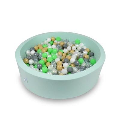 Сухой бассейн круглый 115x30 + мяч шары CE 400