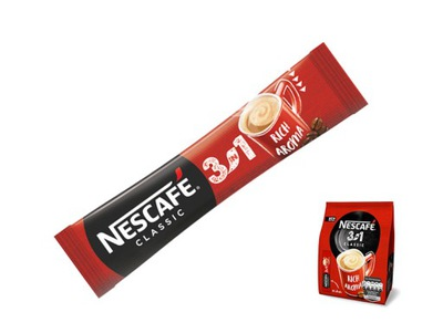 кофе 3in1 Nescafe 3? 1 в пакетиках х 10 штук