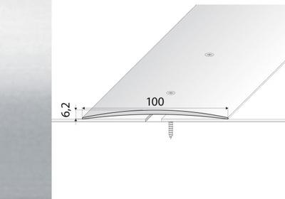 Popruh 100 cm zaradenie laminované STRIEBRO 100mm - A72