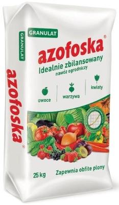 AZOFOSKA instagram Универсальный гранулы Овощи 25 кг