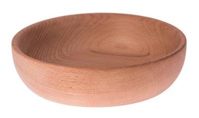 Miska - MISKA drewniana na owoce przekąski DUŻA DECOUPAGE
