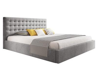 кровать обиты VERO 140х200 контейнер + каркас