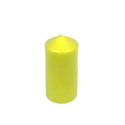 СВЕЧА Свеча Ролик 12cm ЯРКИЙ зеленый