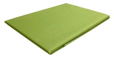 240x260 posteľ list bavlna satén zelená