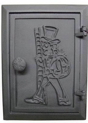 Liatinové revízne komínové dvere