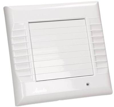 Ventilátor pre kúpeľňa AWENTA A-MATIC WM100 ŽALÚZIE