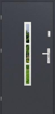 двери Внешние MALAGA НОВИНКА 90 Стали