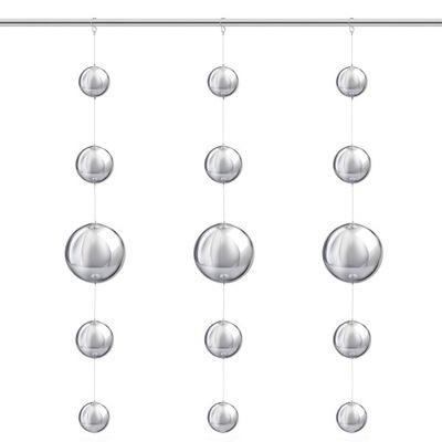 Декоративные шарики СТАЛЬНЫЕ висящий для ОКНА ГИРЛЯНДА