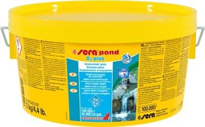 Sera Pond O2 plus DOTLENIANIE Rybník Oka 2 kg Rýb